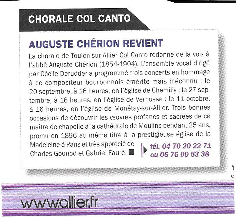 Article reflet d allier sept 2015